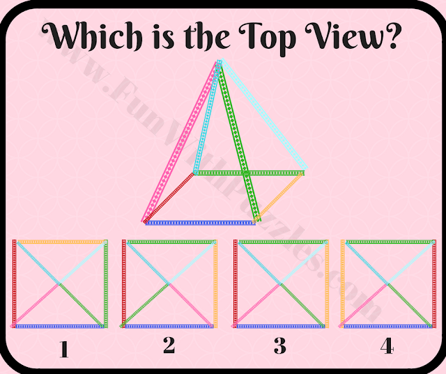 Which is top view picture puzzle