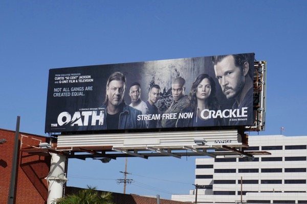 Oath series premiere billboard