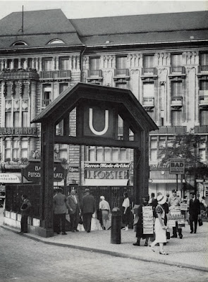 Berlin Station U-bahn Potsdamerplatz 1925