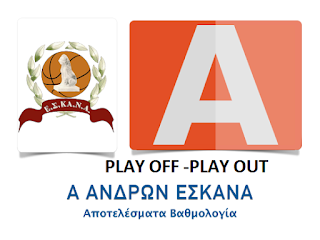 A΄ ΑΝΔΡΩΝ Ξεκίνησαν τα play off και play out