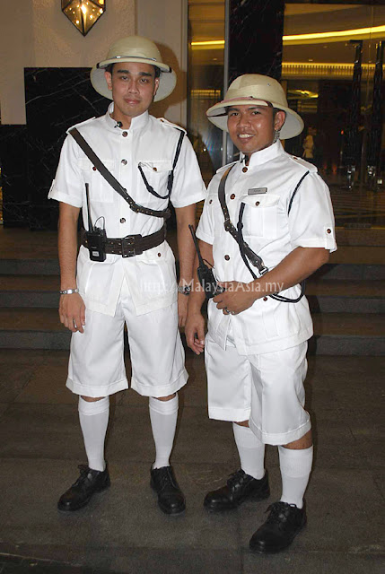 British Style Doormen of Hotel Majestic KL