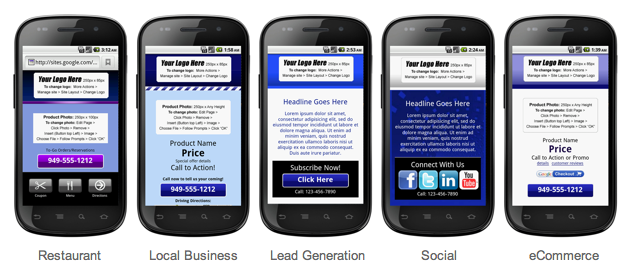 Google drive blog mobile ize your business with google sites you can also start from scratch with our custom template if youre feeling creative maxwellsz