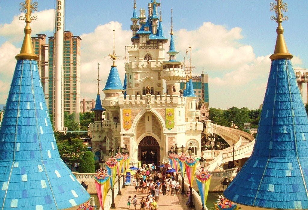 Lotte World In Seoul Of South Korea Best Destinations Abroad