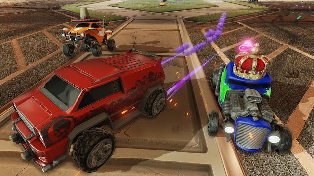 لعبة السيارات الصاروخية Rocket League 3.jpg