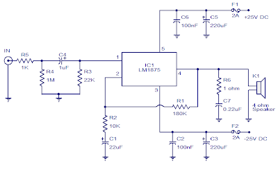 20W Car Audio Amplifier with LM1875 | The Simplest Circuit