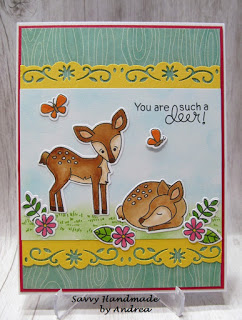 You are such a deer by Andrea features Deer Friend by Newton's Nook Designs; #newtonsnook