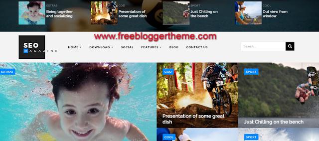 seosports blogger template