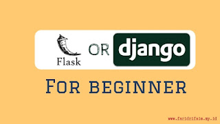 flask or django for beginner