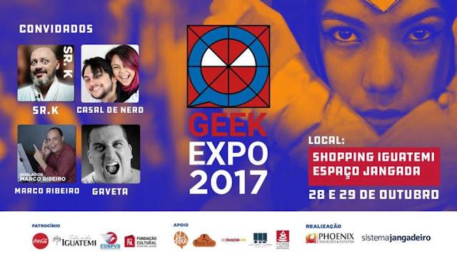 Geek Expo ceará 2017
