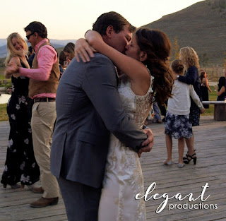 Colorado Wedding Cinematography, Wedding Reception with bride and groom