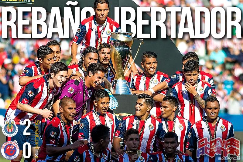 CD Guadalajara 2-0 CD Tiburones Rojos de Veracruz - SuperCopa MX.