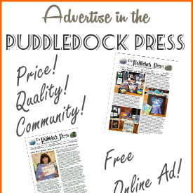 Support Good News- Please Advertise in the Puddledock Press