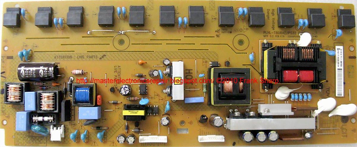 Master Electronics Repair !: REPAIR / SERVICING TV PHILIPS ...