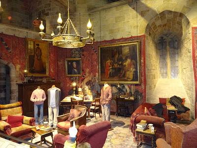 Sala común de la casa Gryffindor