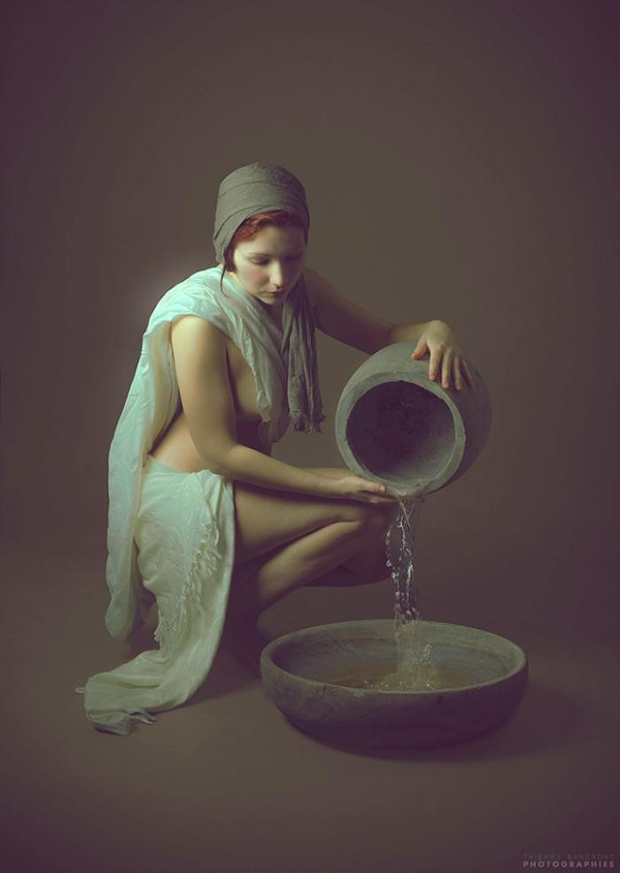 Потрясающие женские портреты. Thierry Bansront