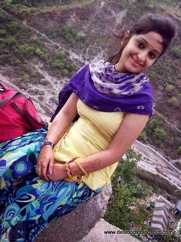 desi girl salwar feet