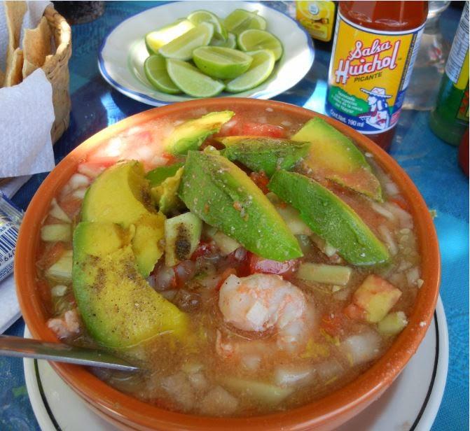 Cazuelas de Mariscos en Puerto Vallarta