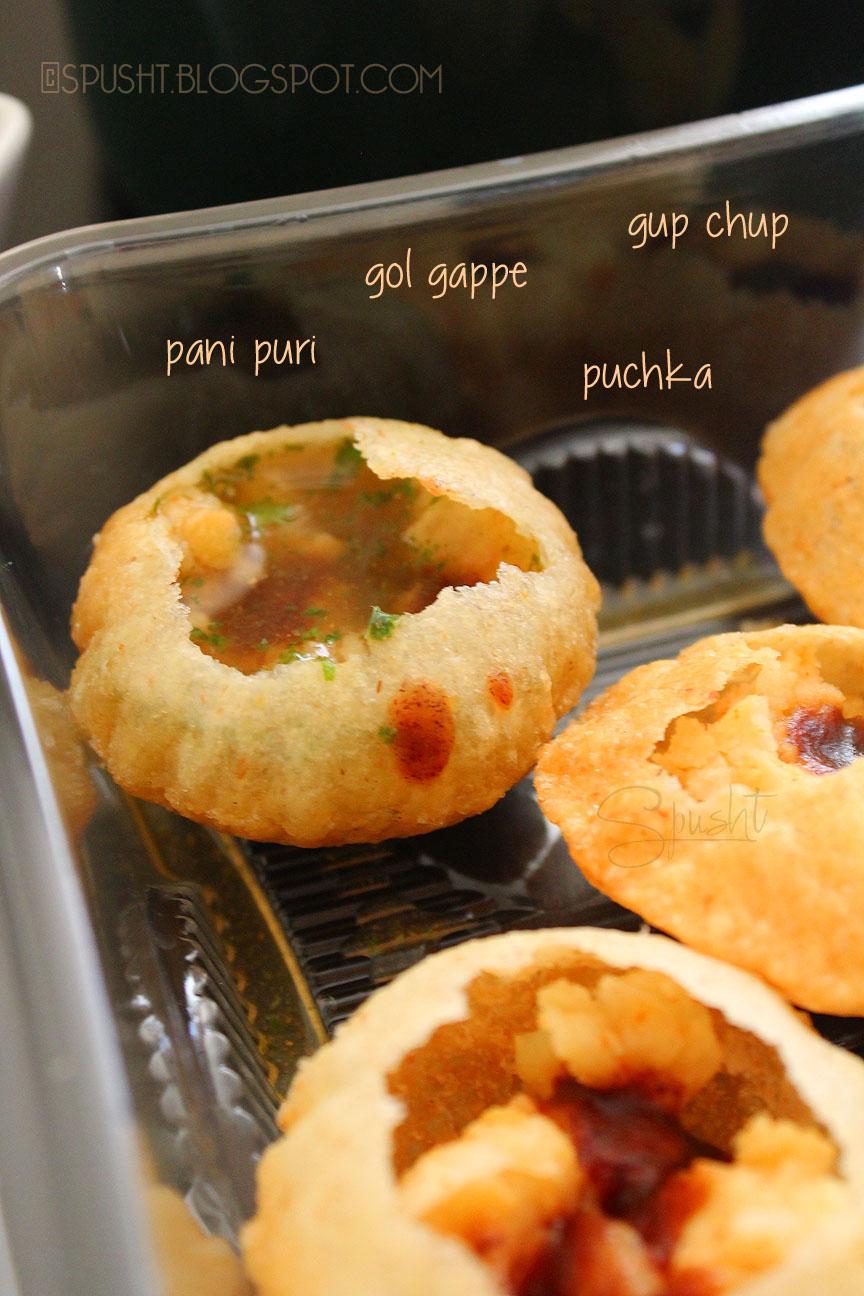 Spusht Pani Puri Recipe Indian Chaat Street Food