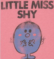 Little Miss shy, shyness, Mr Men,