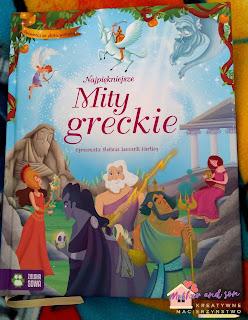 Zeus, Apollo i Atena czyli Najpiękniejsze mity greckie od Wydawnictwa Zielona Sowa.