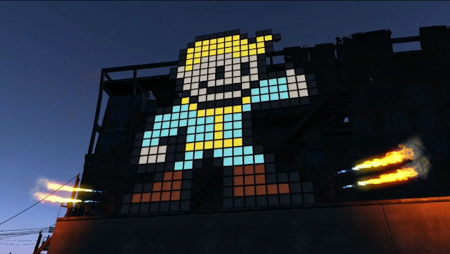 Vault Boy 8-bit Fallout Mega Man Bethesda