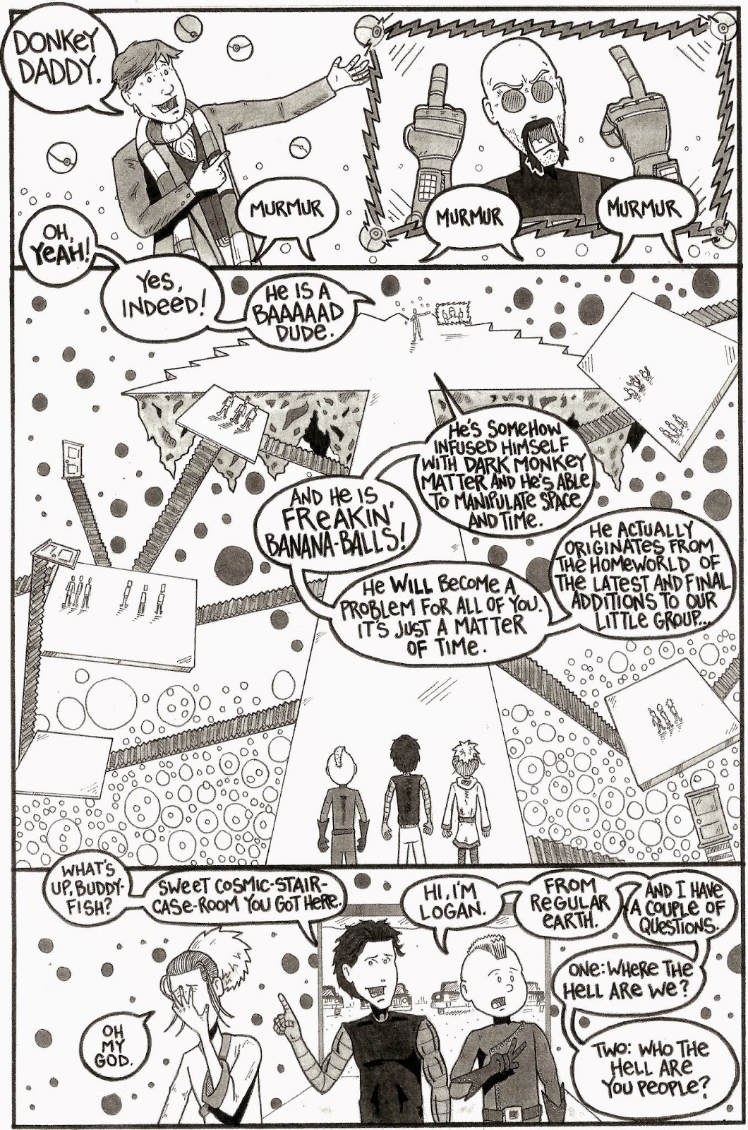 Monkey Squad Monday!: Monkey Squad One Annual #2  Pages 26 & 27