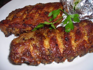 Asado de Cerdo con Salsa de Madeira