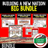New Nation, Articles of Confederation, Civics Mega Bundle, Government Mega Bundle, Civics and Government Curriculum, Anchor Charts, Games, Digital Interactive Notebook, Google Classroom, Word Wall, Choice Boards, Guided Notes, PowerPoints, Test Prep, Document Based Questions