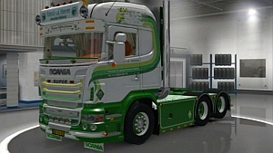 Scania R620 Patrick vd Hoeven truck