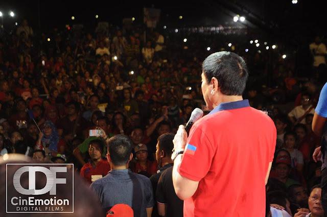 Duterte Grand Rally at Luneta Park (Rizal Park)