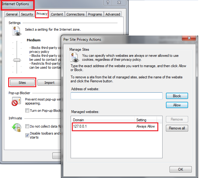 Technology Blog: ADF: Login page keeps on coming back in IE