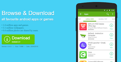 Alternatif Tempat Download Aplikasi Selain Di Google Playstore