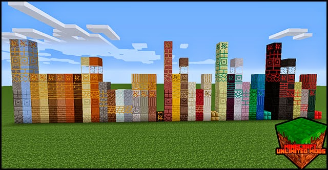 More Materials Mod bloques