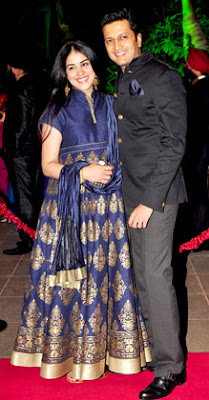 Ritiesh Genelia in Arpita Khan wedding