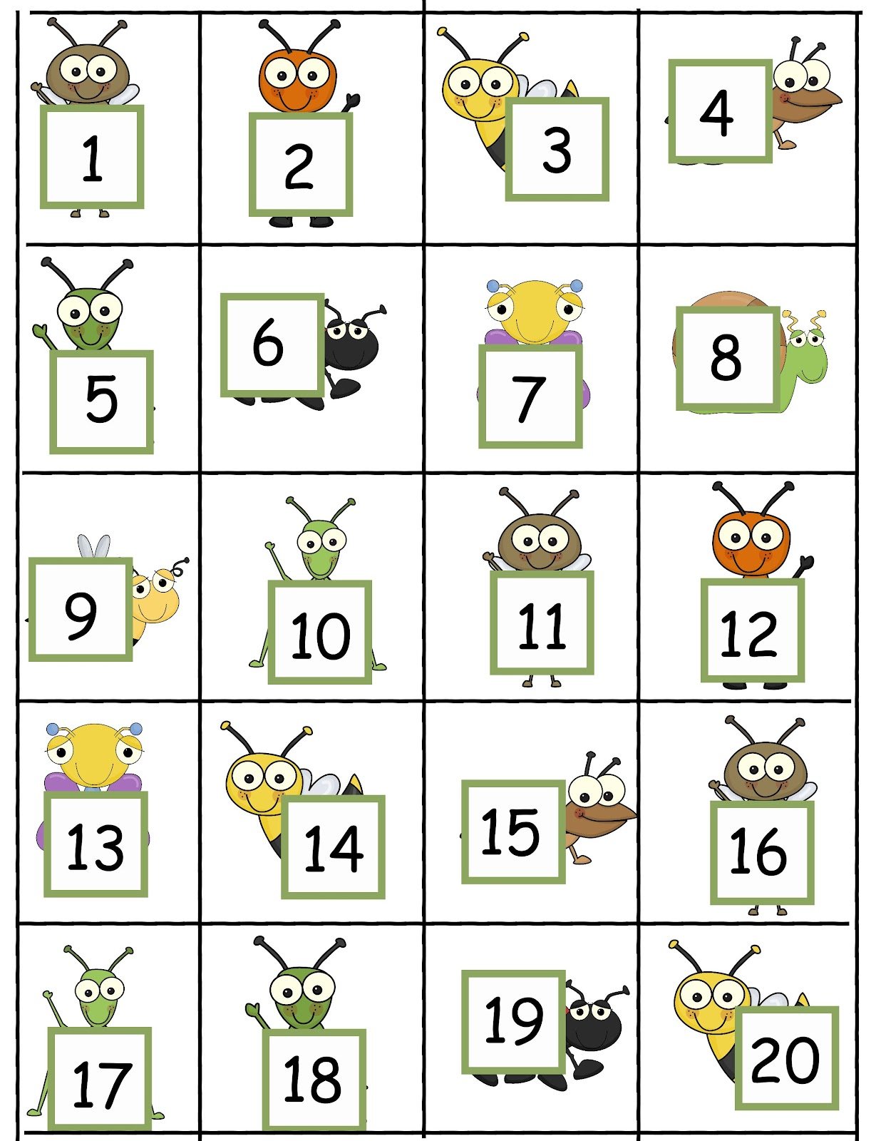 The Crazy Pre K Classroom Tips For Teaching Number Word Recognition