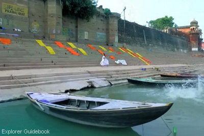 Gangaa filming location Kota suci varanasi india ghat terkenal di varanasi