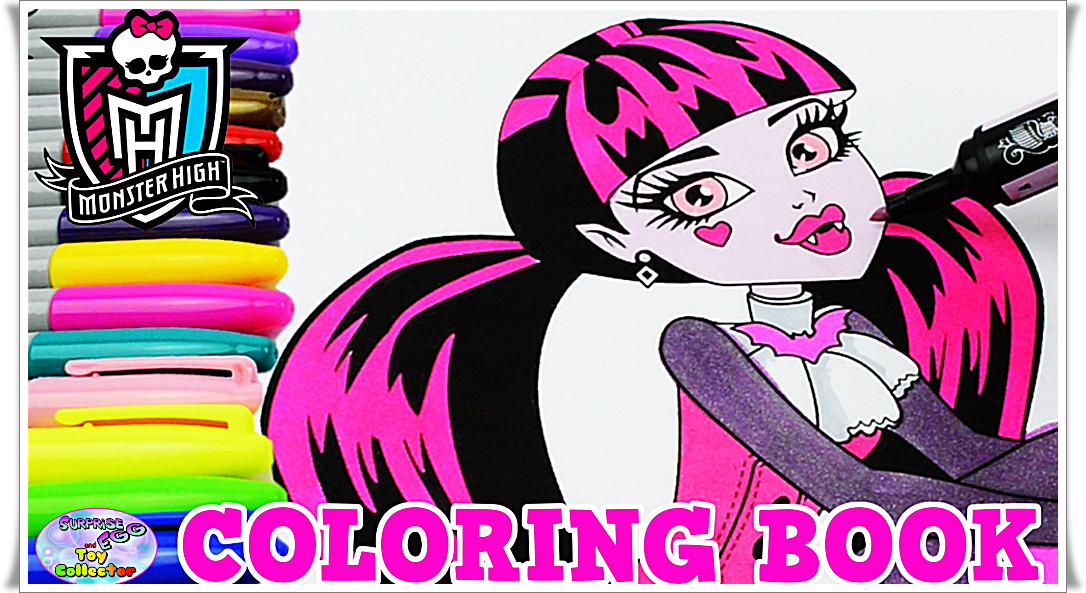 Monster High Coloring Pages Draculaura Coloring Home
