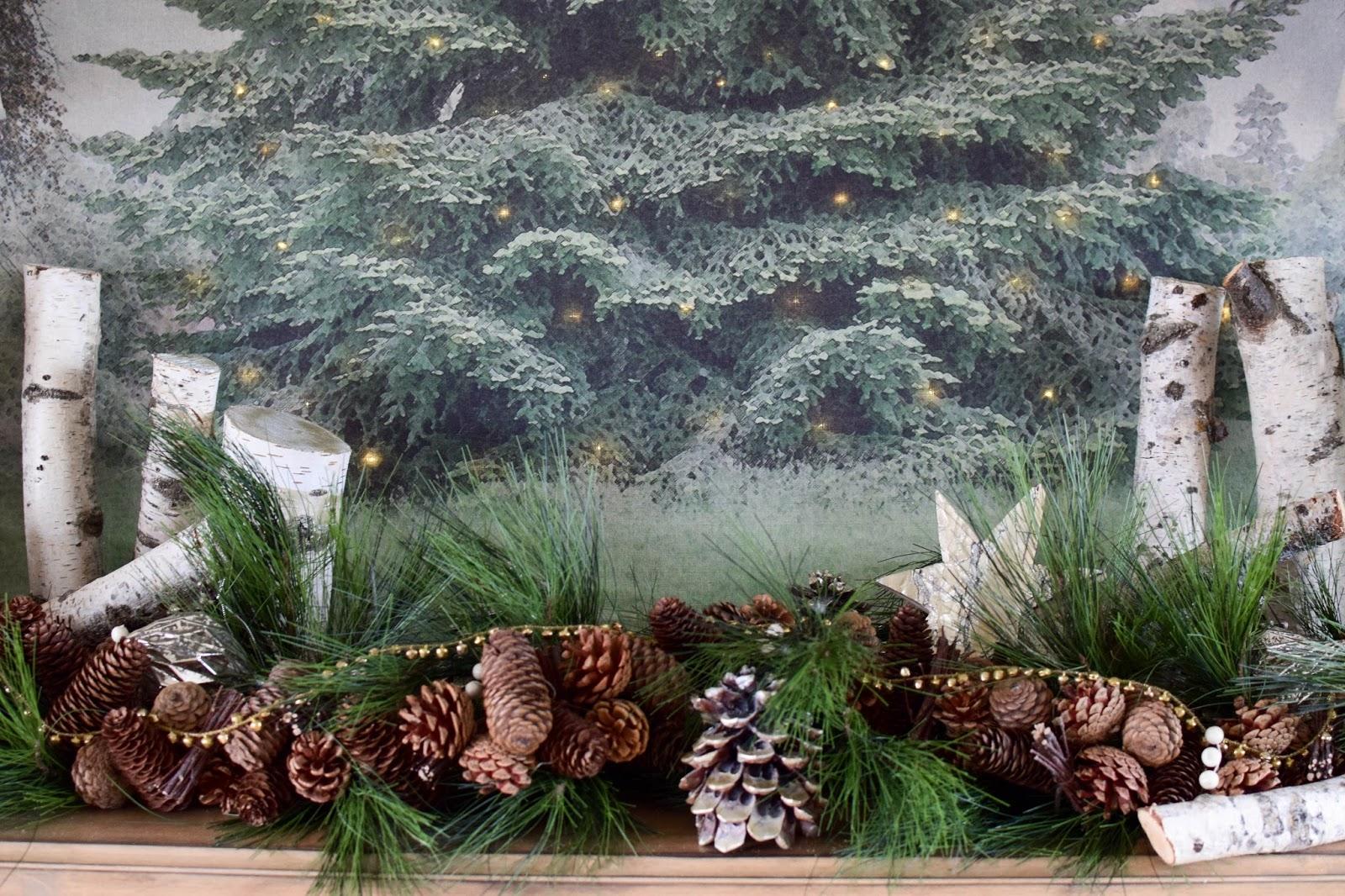 Sideboard Weihnachten Dekoidee, Deko, Weihnachtsdeko, Wohnzimmer