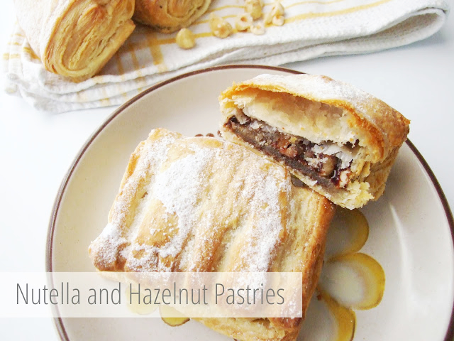 Nutella and Hazelnut Pastries