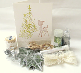 Christmas crafting trends 2013 Fantasy forest