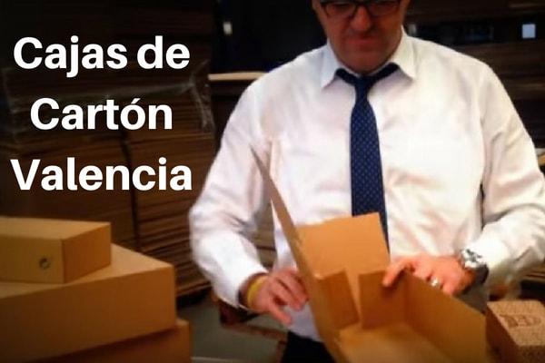 cajas de cartón Valencia
