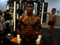 buakaw after training