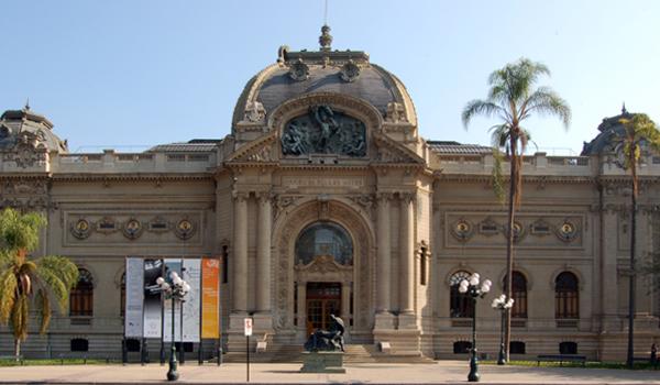 Museo de Bellas Artes en Santiago de Chile