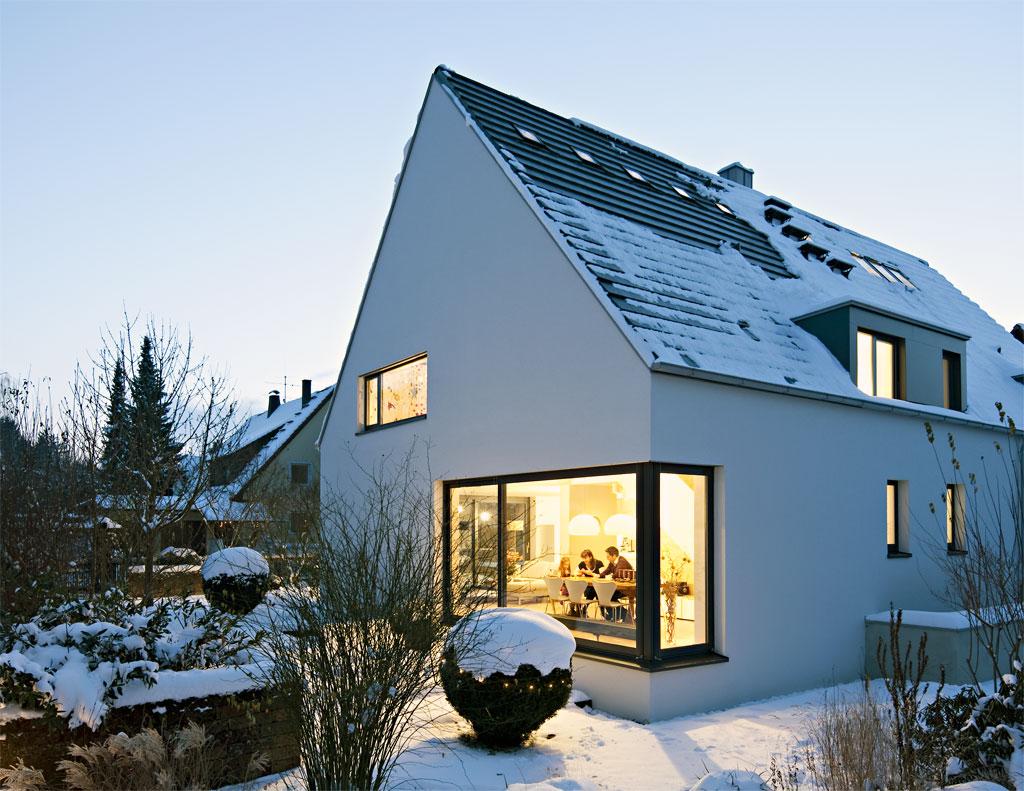 Fertighaus modern satteldach  Fertighaus Satteldach Modern | Minimalistische Haus Design