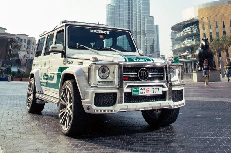 Modified Craze: DUBAI POLICE CARS