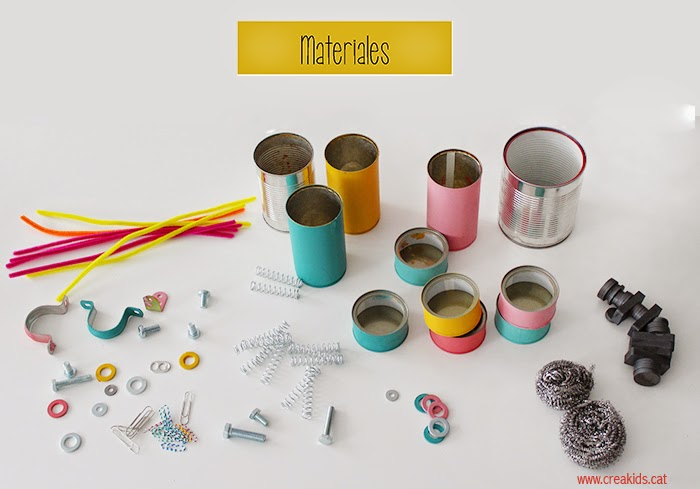 Robots Upcycling: materiales