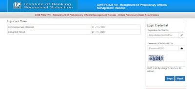 Naukri, IBPS, PO, IBPS PO, IBPS RESULT, Government job