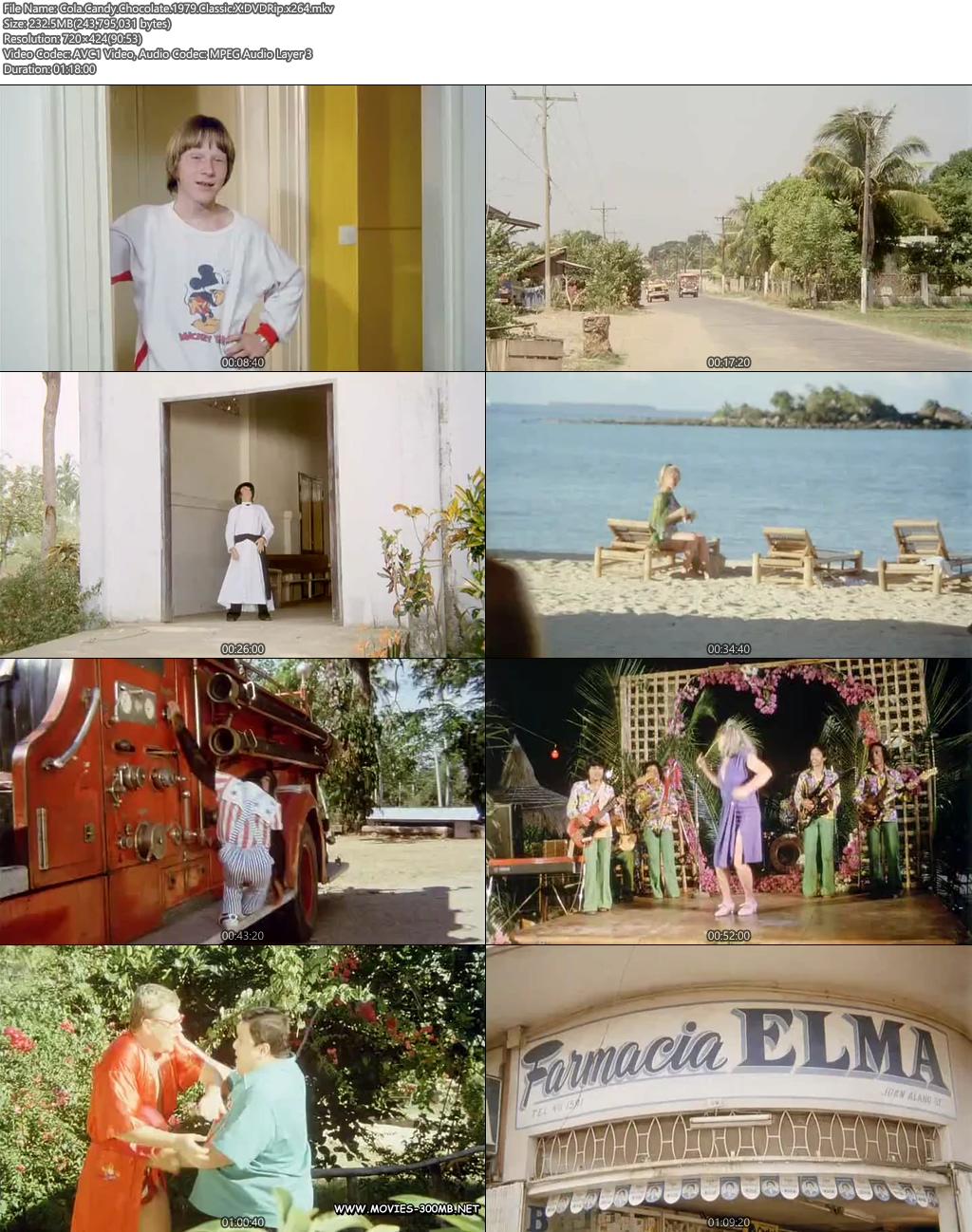 [18+] Cola Candy Chocolate 1979 Classic X DVDRip 200MB x264 Screenshot