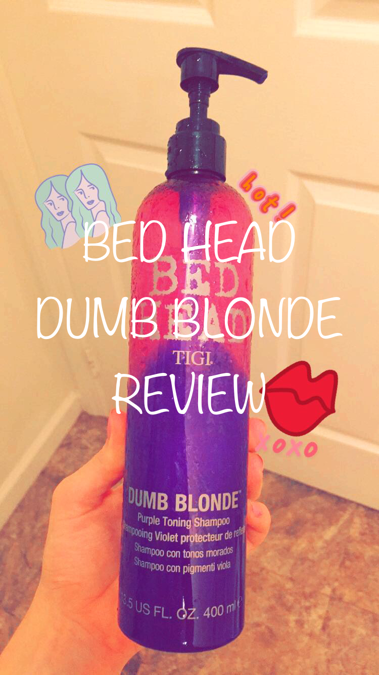 Bed Head Dumb Blonde Shampoo Review