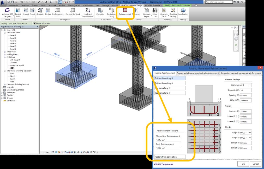 Revit Add-Ons: Reinforced Concrete BIM Designers for Revit